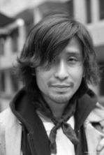 Street Portrait (for and of Hiro), 2014