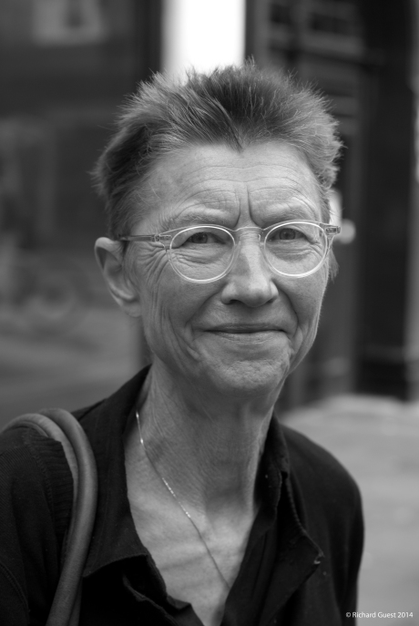 Street Portrait (for and of Vicky), 2014