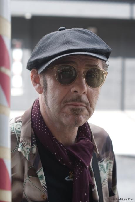 Street Portrait (for and of Alberto Umbridge), 2014