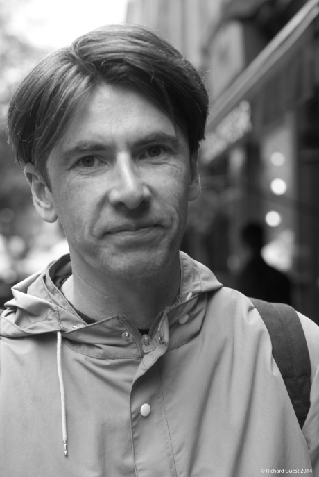Street Portrait (for and of Bernard Butler), 2014