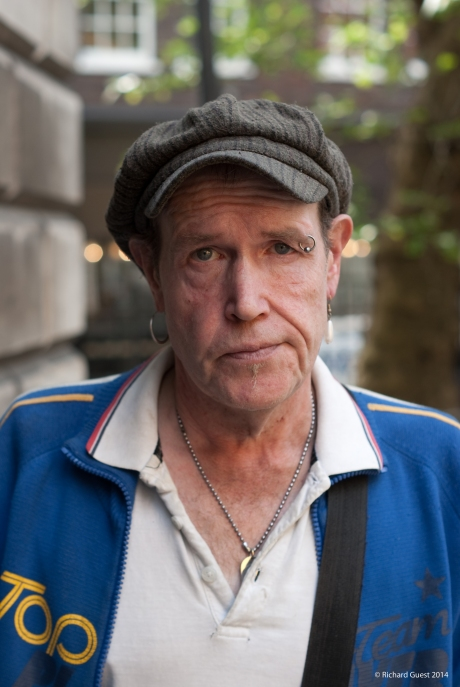 Street Portrait (for and of Chris), 2014