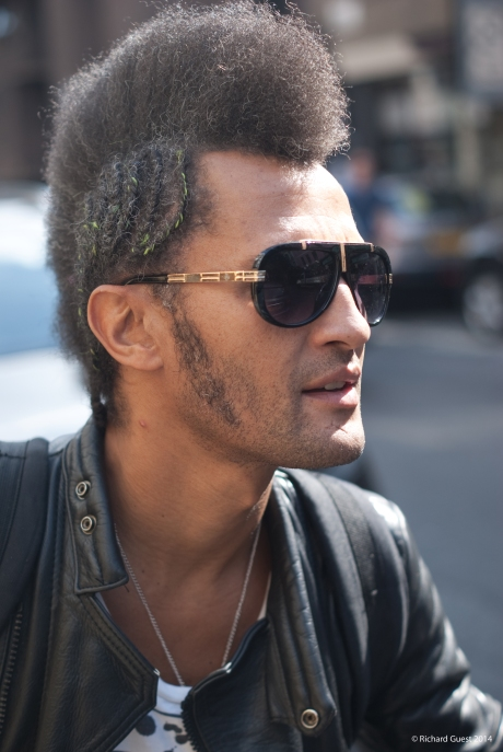 Street Portrait (for and of Spencer), 2014