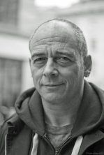 Street Portrait (for and of Dinos Chapman), 2015