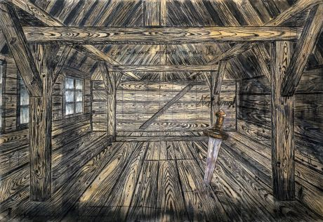 Anselm Kiefer Nothung, 1973