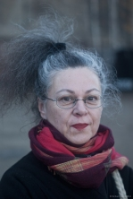Street Portrait (for and of Pia), 2014