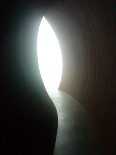 Richard Serra's Backdoor Pipeline photo by David Cook