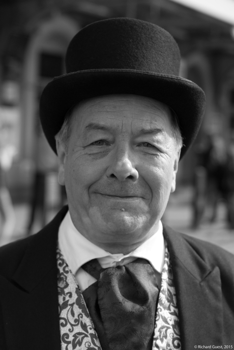 Street Portrait (for and of Clive), 2015