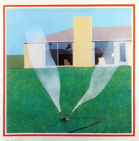David Hockney, A Lawn Sprinkler 1967