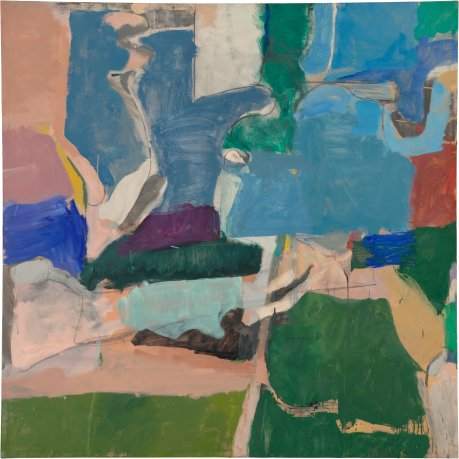 Richard Diebenkorn, Berkeley #5, 1953