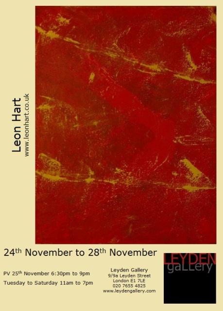 Leon Hart Flyer 2