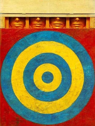 Jasper Johns Target with Four Faces 1955