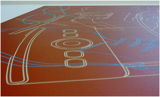 Michael Craig-Martin: Transience, installation view by David Cook