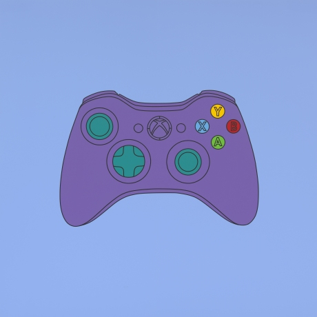 Michael Craig-Martin; Untitled (xbox control), 2014; Acrylic on aluminium; © Michael-Craig Martin; Courtesy of Gagosian Gallery; Photo: Mike Bruce