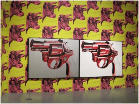 Warhol installation view by David Cook