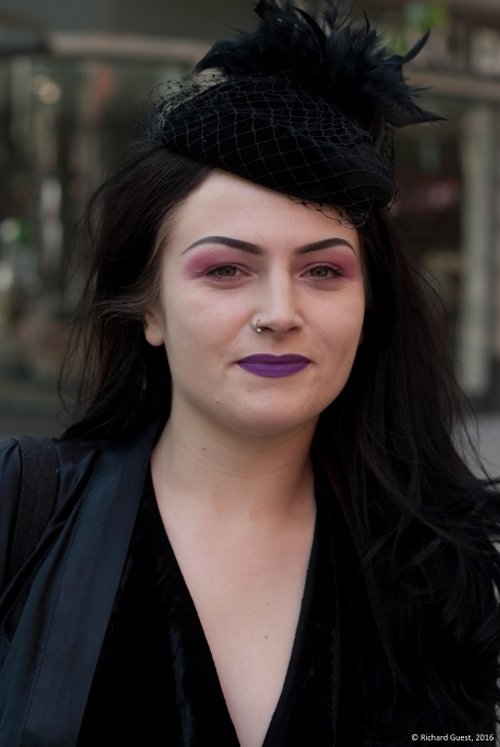 Street Portrait (for and of Alice), 2016