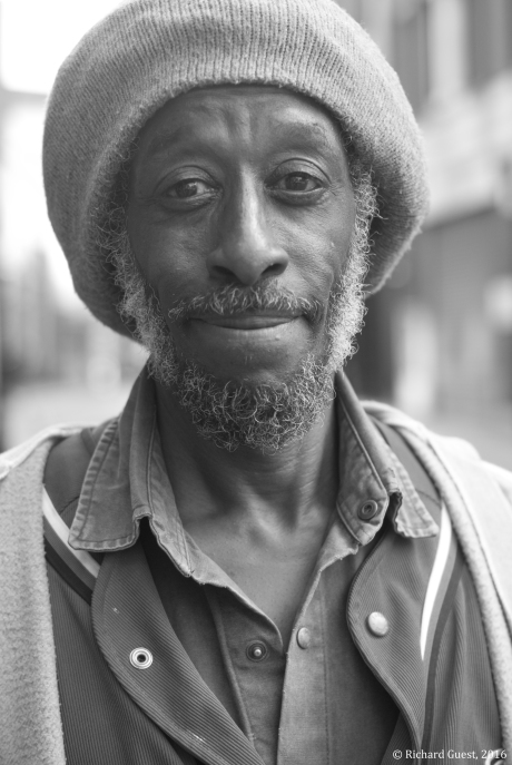 Street Portrait (for and of Paul Barrett), 2016