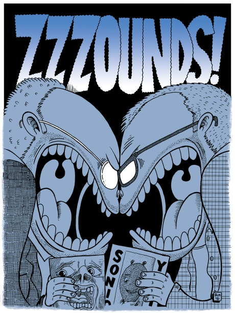 Zzzounds! Poster by Robb Mirsky