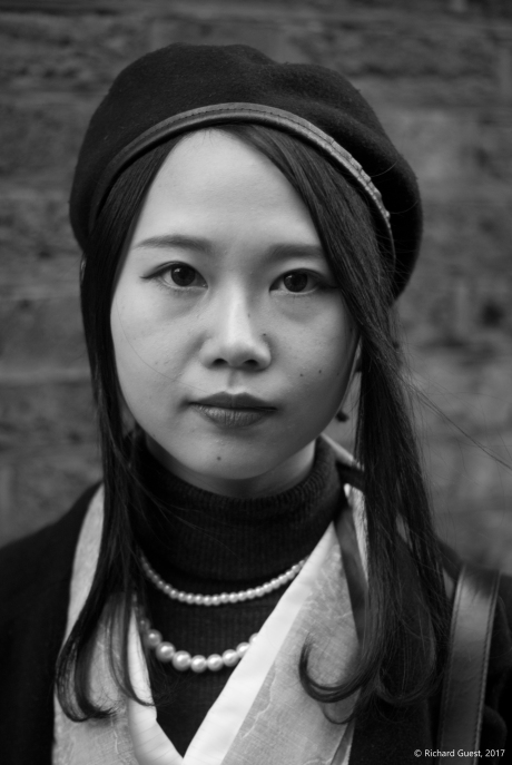 Street Portrait (for and of Fuki), 2017