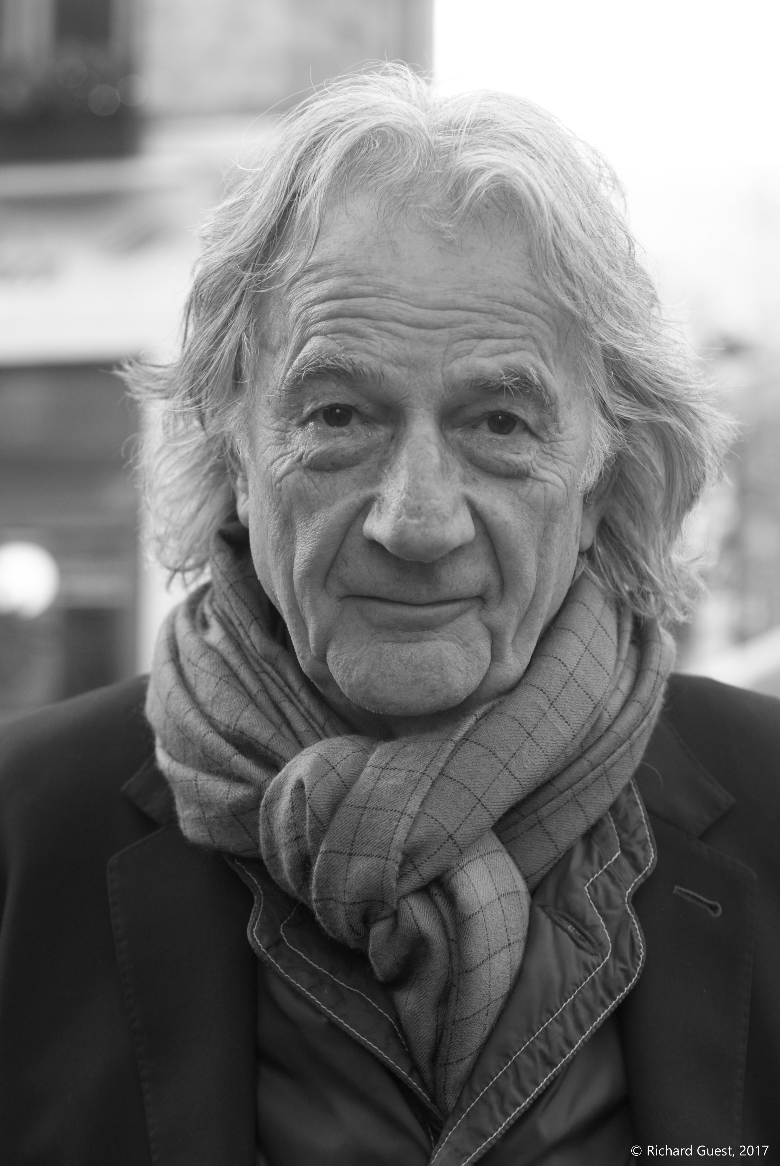 Street Portrait (for and of Paul Smith), 2017