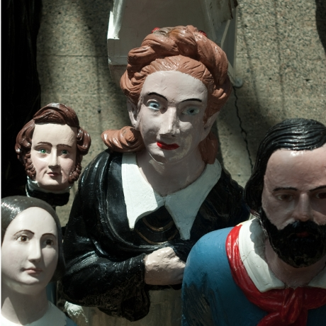 Figureheads at Cutty Sark