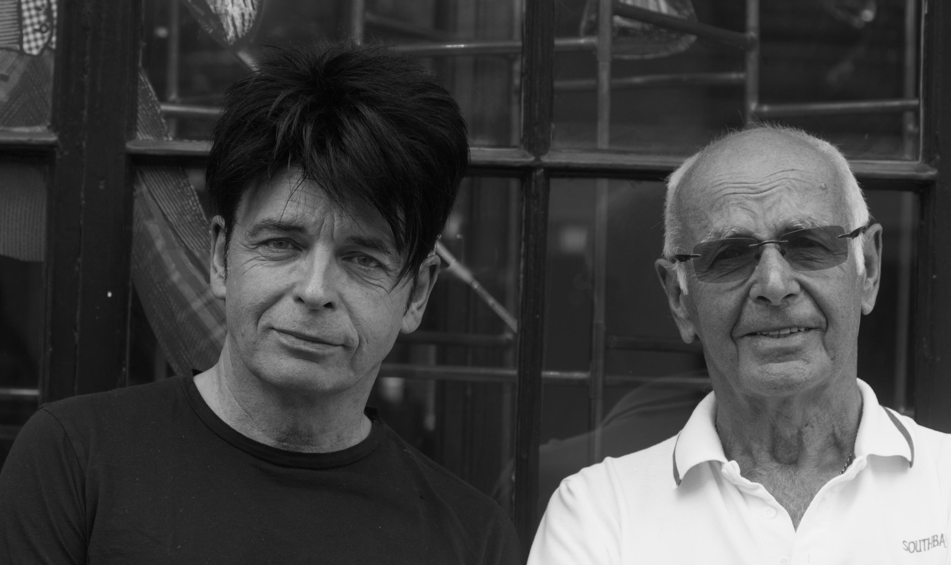 Gary Numan and Tony Webb